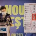 """VIDEO Nicusor Dan a adus """"caracatita Firea-Pandele"""" la sediul PSD: """"Aici e centrul coruptiei"""""""