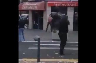 """VIDEO Parchetul a indepartat orice pista terorista in cazul barbatului inarmat care striga """"Allahu Akbar"""" si ameninta trecatorii, impuscat mortal la Avignon"""