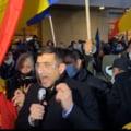 VIDEO Protest AUR, dupa tragedia de la Bals. Multimea a ajuns la Ministerul Sanatatii, acolo unde Voiculescu a sustinut o conferinta de presa