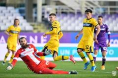 VIDEO Romani de succes. Mihaila, gol din pasa lui Dennis Man in victoria Parmei cu Roma