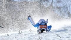 VIDEO S-a trezit din coma, dupa cea mai groaznica cazatura la saritura cu schiurile
