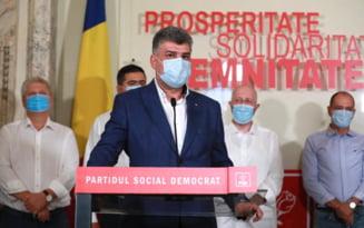 VIDEO Sedinta CExN al PSD: Discutii despre congresul extraordinar de sambata, motiunea de cenzura si alegerile locale