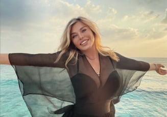 VIDEO Sexy gospodina. Ce mancaruri alese a pregatit Loredana Groza de Valentine's Day in Maldive