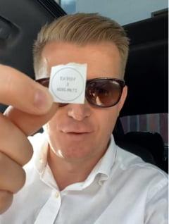 VIDEO Un om de afaceri a votat pe baza unei fotografii. Si-a uitat buletinul in Portugalia