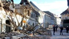 VIDEO/FOTO Imagini cutremuratoare, dupa seismul din Croatia. Mii de oameni dorm in masini sau in adaposturi