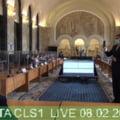 VIDEO FOTO Imaginile unui desant politic esuat. Gabriela Firea vorbeste in sala goala a Consiliului Local Sector 1
