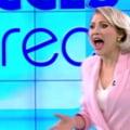 VIDEO SOCANT Mirela Vaida a fost atacata cu un bolovan, de o femeie dezbracata, in timpul emisiunii Acces direct