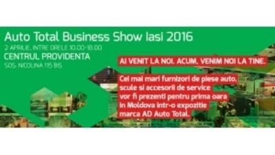 (P) Auto Total Business Show prezinta editia de primavara - ATBS Iasi