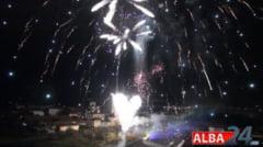 1 Decembrie la Alba Iulia: SPECTACOL de ARTIFICII in CULORILE TRICOLORULUI ROMANIEI pe muzica trupei VOLTAJ