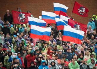 1 Mai ca pe vremea URSS: Defilare in Piata Rosie cu 140.000 de oameni