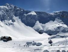 1 Mai cu zapada de peste un metru la Balea: Risc de avalanse in Fagaras