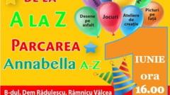 1 iunie la Annabella A-Z: Distractie de la A la Z!