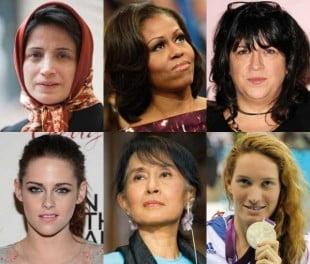 10 dintre femeile care au marcat anul 2012 (Galerie foto)