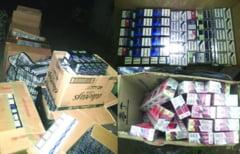 10 focuri de arma pentru prinderea unor contrabandisti de tigari, la Brodina