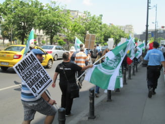 """100 de participanti la marsul pentru """"familia traditionala"""", majoritatea preoti, scandeaza """"Rusine Liviu Dragnea!"""" - UPDATE"""