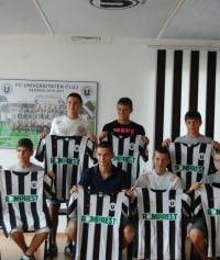 """12 juniori de la FC Ardealul, transferati la """"U"""" Cluj"""