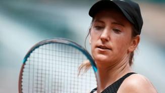 13 cuvinte! Atat a putut spune Viktoria Azarenka dupa ce a fost eliminata de Sorana Cirstea in turul doi la Wimbledon