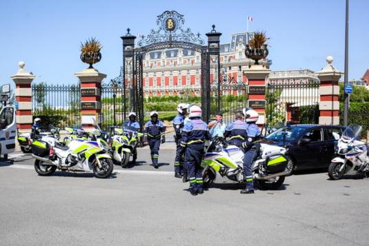 13000 de politisti au fost mobilizati pentru paza summitului G7 de la Biarritz