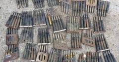 142 de cartuse de calibrul 7,63 mm descoperite in podul unei case din zona centrala a Timisoarei