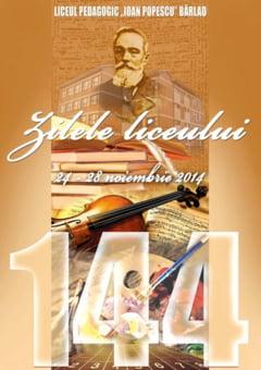 144 de ani de la infiintarea Liceului Pedagogic din Barlad