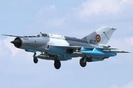 15 ani de la primul zbor al avionului modernizat MiG 21 Lancer