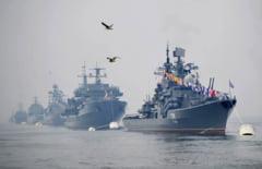 15 nave de razboi rusesti au ajuns in Marea Neagra. Manevrele continua pe fondul tensiunilor din estul Ucrainei
