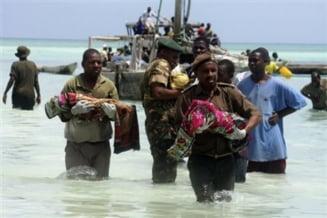 187 de morti in urma scufundarii navei din Zanzibar