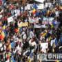 19 octombrie 2013 - Cel mai mare protest din Muntii Apuseni impotriva proiectului minier ce prevedea extragerea aurului de la Rosia Montana cu cianuri - Foto