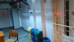 2 minute de groaza la Spitalul de Urgenta Cluj. Abandonat de familie, Dumitru a murit