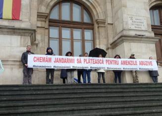 20 de protestatari ii cheama in judecata pe jandarmii lui Cucos, care i-au amendat nelegal la congresul PSD: Cer daune morale de 200.000 de lei