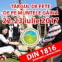22-23 iulie: Targul de Fete de pe Muntele Gaina, 2017. Concerte, spectacole de folclor, expozitii. PROGRAMUL EVENIMENTULUI