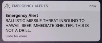 """28 de minute de panica: """"Vine sfarsitul lumii!"""" - Ce au facut locuitorii din Hawaii dupa alerta cu racheta, care s-a dovedit a fi falsa"""