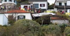 29 de turisti au murit dupa ce un autocar a cazut intr-o prapastie, pe insula Madeira