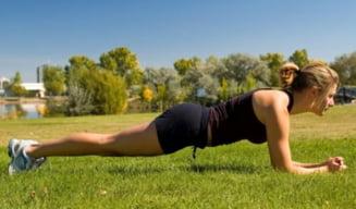 3 exercitii pentru un abdomen de invidiat