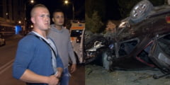 3 tineri, la un pas de moarte, dupa un grav accident: Un baiat de 17 ani, grav ranit / Soferul avea permisul de 3 saptamani