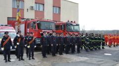30 de ani de la infiintarea Statiei de Pompieri Scornicesti, sarbatoriti printr-un ceremonial militar