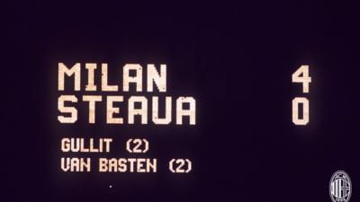 32 de ani de cand AC Milan a surclasat Steaua, in finala CCE! Explicatiile unui esec lamentabil VIDEO