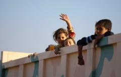 350.000 de copii sunt prinsi in luptele din vestul Mosulului. Daca incearca sa fuga, sunt executati
