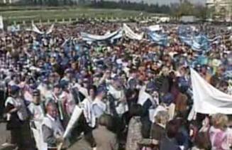 400 de agenti si ofiteri din penitenciare protesteaza vineri in Capitala