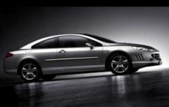 407 Coupe GT - cea mai puternica versiune din istoria Peugeot