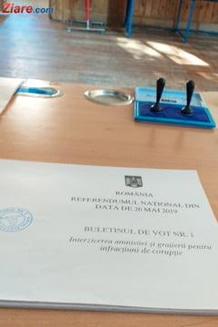 41,28% dintre romani au votat la referendumul pe justitie