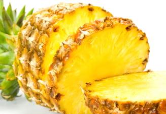 5 motive sa mananci ananas