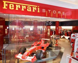 50.000 de euro cumparaturi de Paste in magazinul Ferrari din Bucuresti