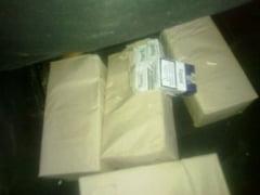 520 de pachete cu tigarete netimbrate descoperite pe o nava in Portul Sulina