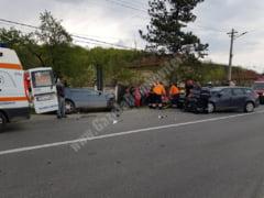 6 persoane ranite intr-un accident la Dragodana