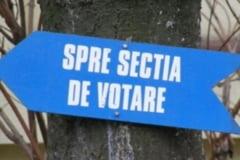 714 sectii de votare in strainatate