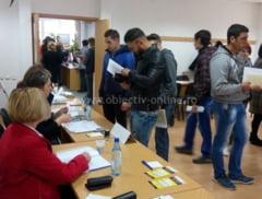 76 persoane selectate pentru a ocupa un loc de munca si alte 17 persoane incadrate pe loc, la Bursa Generala organizata de AJOFM Calarasi