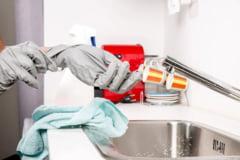 8 trucuri ca sa termini mai rapid curatenia