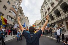 97 de ani de la unirea Basarabiei cu Romania: Marsuri si harti umane in zeci de orase din intreaga lume
