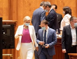 A început lupta pentru șefia Senatului. Alina Gorghiu și Florin Cîțu, din aliați au ajuns rivali SURSE